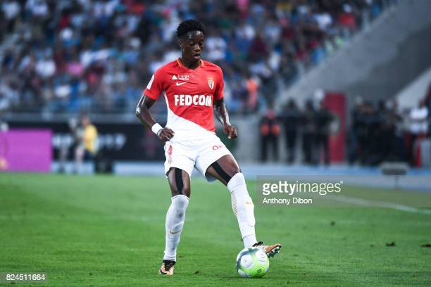 Jemerson of Monaco during the Champions Trophy match between Monaco and Paris Saint Germain at Stade IbnBatouta on July 29 2017 in Tanger Morocco