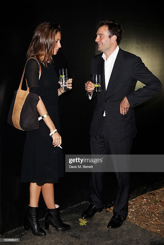 Jemima Jones and Ben Goldsmith attend a party celebrating the launch of 28 Club a new night club in the basement of Morton's Private Member's Club in...