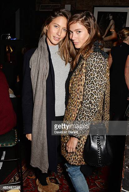 Jemima Jones and Quentin Jones attend the launch of new restaurant West Thirty Six on January 29 2015 in London England
