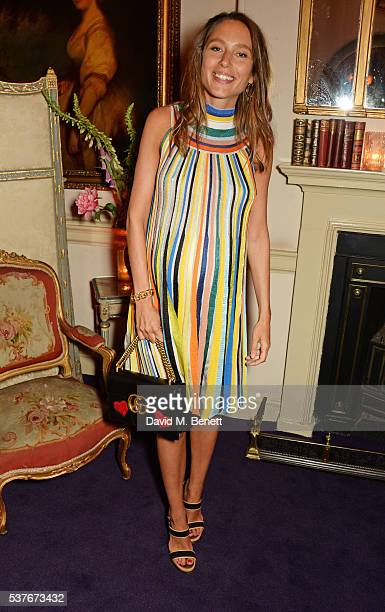 Jemima Jones attends the Gucci party at 106 Piccadilly in celebration of the Gucci Cruise 2017 fashion show on June 2 2016 in London England