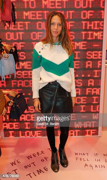 Jemima Jones attends the Maje PopUp store launch with Women for Women International on November 20 2017 in London England