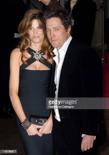 Jemima Khan and Hugh Grant during 'Music and Lyrics' London Premiere at Odeon Leicester Square WC2 in London Great Britain