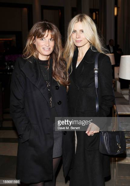 Jemima Khan and Laura Bailey attend the launch of the GREAT Boodles bangles created in partnership with jewellery brand Boodles and the GREAT...