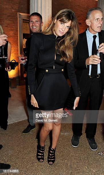 Jemima Khan attends a donors dinner hosted by Michael Bloomberg Graydon Carter to celebrate the launch of the new Serpentine Sackler Gallery designed...