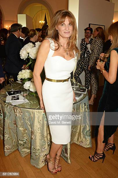 Jemima Khan attends The 8th Annual Filmmakers Dinner hosted by Charles Finch and JaegerLeCoultre at Hotel du CapEden Roc on May 13 2016 in London...