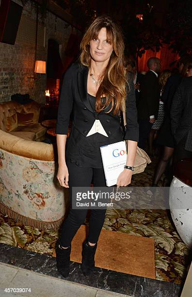 Jemima Khan attends the book launch party for 'How Google Works' by Eric Schmidt and Jonathan Rosenberg hosted by Jamie Reuben at The Chiltern...
