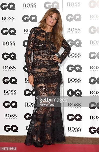 Jemima Khan attends the GQ Men Of The Year Awards at The Royal Opera House on September 8 2015 in London England