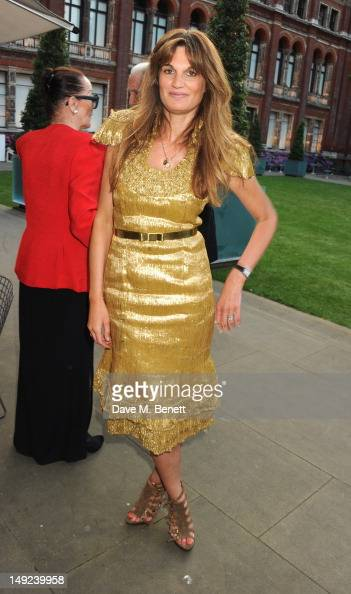 Jemima Khan attends the Sports For Peace Fundraising Ball at The VA on July 25 2012 in London England