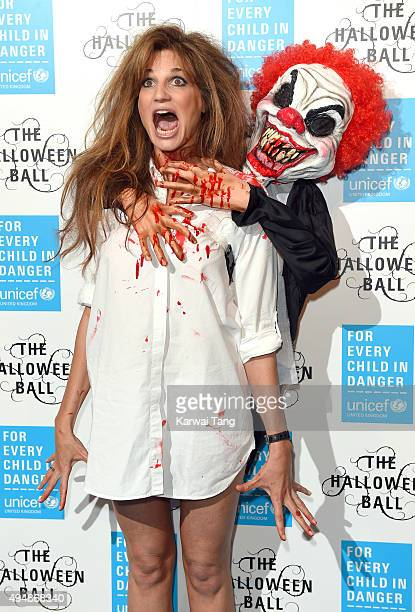 Jemima Khan attends the UNICEF Halloween Ball at One Mayfair on October 29 2015 in London England