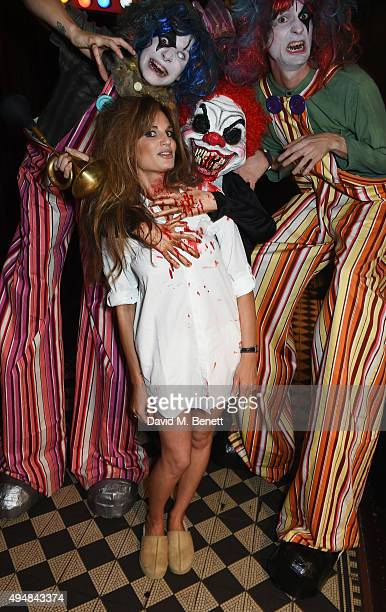 Jemima Khan attends The Unicef UK Halloween Ball raising vital funds to support Unicef's lifesaving work for Syrian children in danger at One Mayfair...