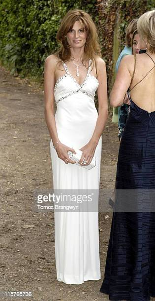 Jemima Khan during An Elephant Durbar Charity Dinner Arrivals at Petersham House in Richmond Great Britain
