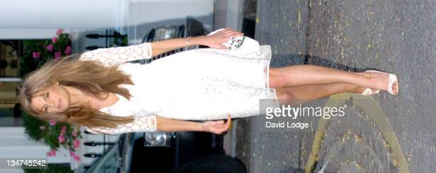 Jemima Khan during Sir David Frost Summer Party Arrivals at Carlisle Square in London Great Britain