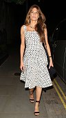 Jemima Khan seen at the Chiltern Firehouse on June 11 2015 in London England