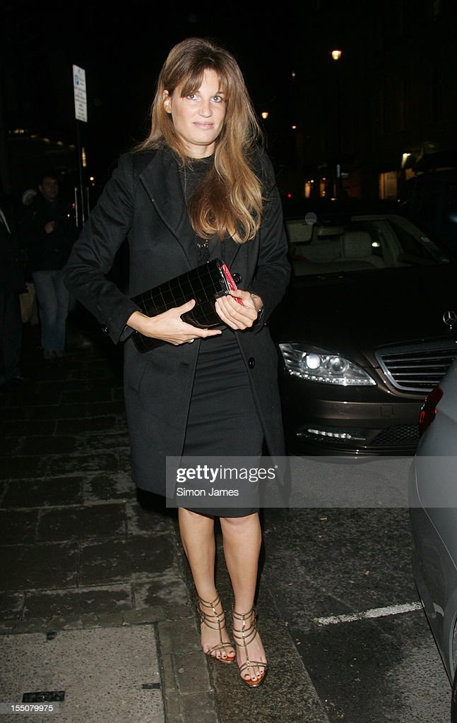 Jemima Khan sighting on October 31, 2012 in London, England.