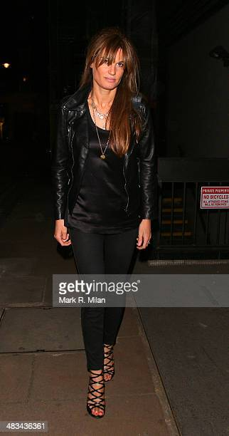 Jemima Khan the Curzon Mayfair cinema on April 8 2014 in London England