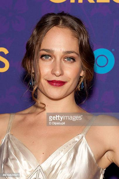 Jemima Kirke attends the 'Girls' season three premiere at Jazz at Lincoln Center on January 6 2014 in New York City