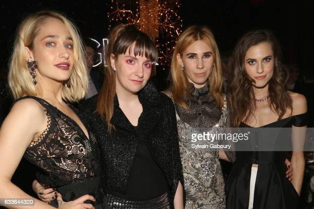 Jemima Kirke Lena Dunham Zosia Mamet and Allison Williams attend The New York Premiere of the Sixth Final Season of 'Girls' After Party at Cipriani...