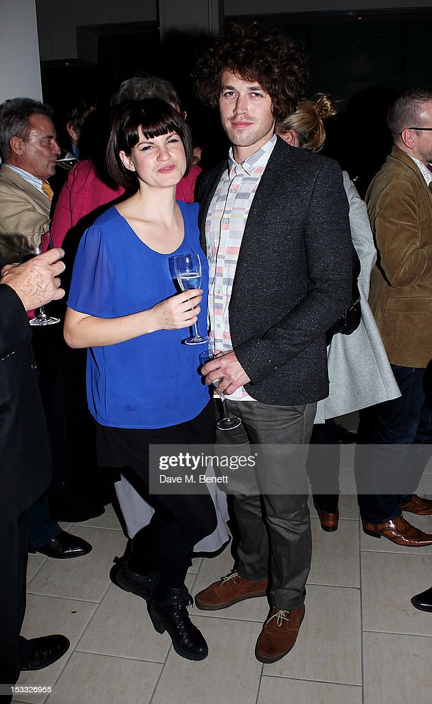 <a gi-track='captionPersonalityLinkClicked' href=/galleries/search?phrase=Jemima+Rooper&family=editorial&specificpeople=817780 ng-click='$event.stopPropagation()'>Jemima Rooper</a> (L) and Ben Ockrent attend an after party celebrating the press night performance of 'Our Boys' at One Aldwych on October 3, 2012 in London, England.