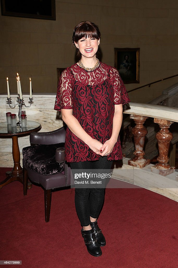 Jemima Rooper attends an after party following the press night performance of 'The Weir' at the Horseguards Hotel on January 21 2014 in London England