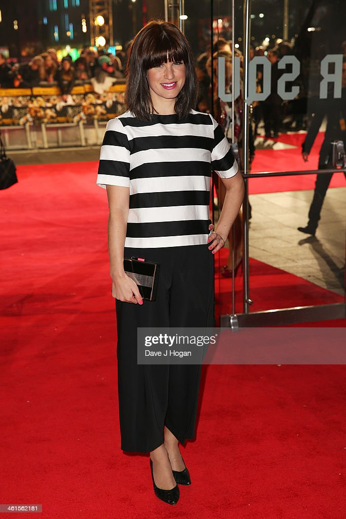 Jemima Rooper attends the UK premiere of 'The Wolf Of Wall Street' at The Odeon Leicester Square on January 9 2014 in London England