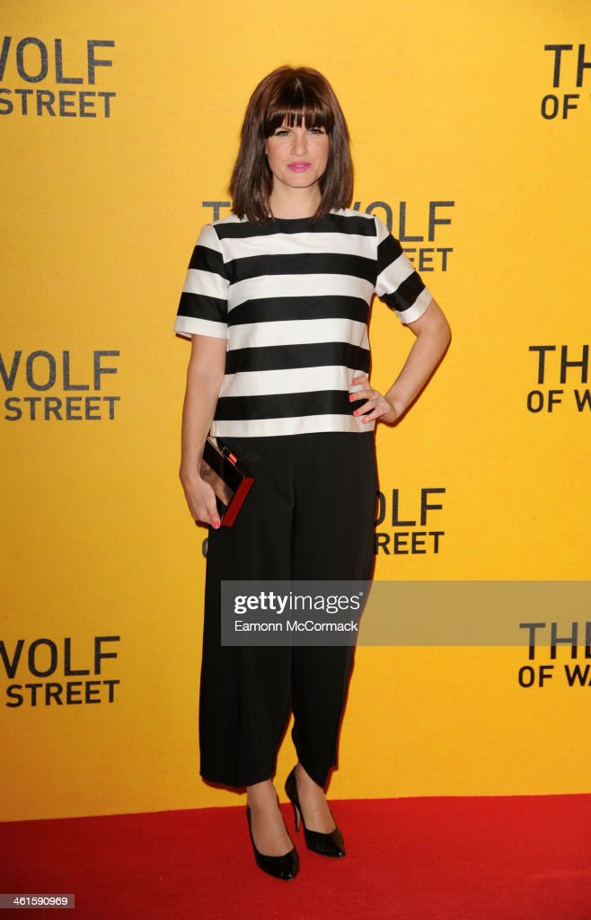 Jemima Rooper attends the UK Premiere of 'The Wolf Of Wall Street' at Odeon Leicester Square on January 9 2014 in London England