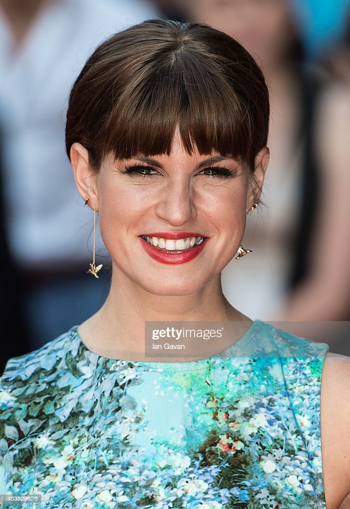 Jemima Rooper attends the UK Premiere of 'What If' at Odeon West End on August 12 2014 in London England