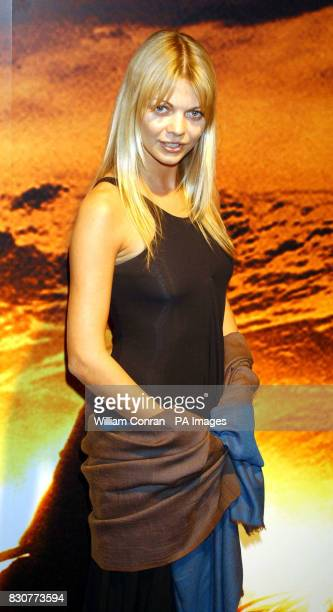 Jemma Kidd at the Tobacco Dock in London for the after show party of the world premiere of Lord of the Rings The Fellowship of the Ring lotrgal