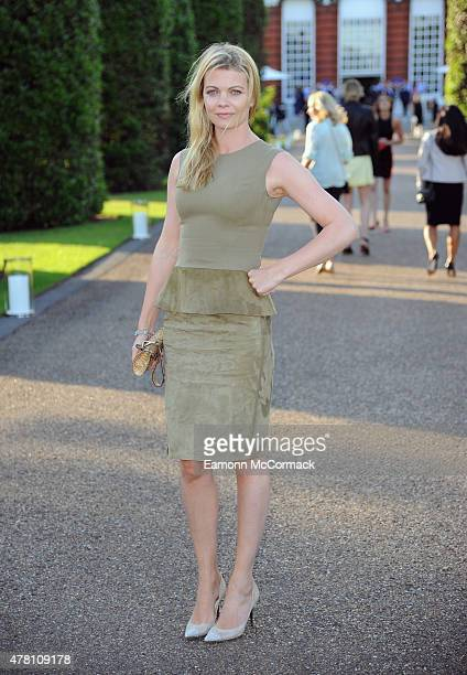 Jemma Kidd attends the Vogue and Ralph Lauren Wimbledon party at The Orangery on June 22 2015 in London England