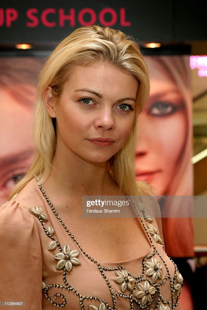 "Jemma Kidd Launches ""Beauty Unwrapped"" at Selfridges in London - November 30, 2005"