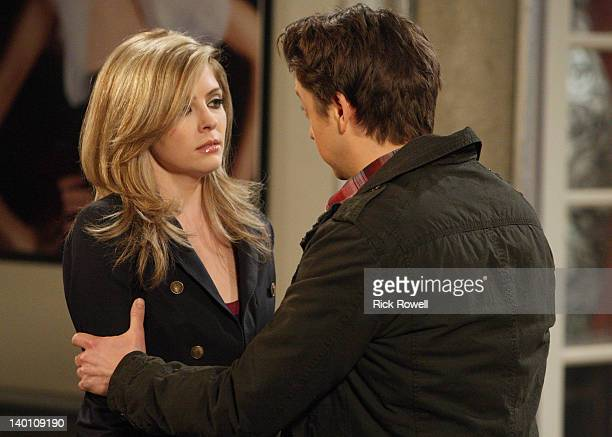 HOSPITAL Jen Lilley and Bradford Anderson in a scene that airs the week of February 27 2012 on ABC Daytime's 'General Hospital' 'General Hospital'...