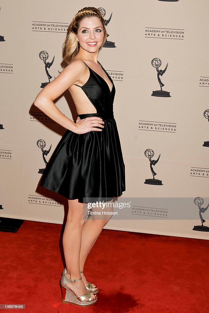 Jen Lilley attends the 39th annual daytime Emmy Awards nominees reception at SLS Hotel on June 14, 2012 in Beverly Hills, California.
