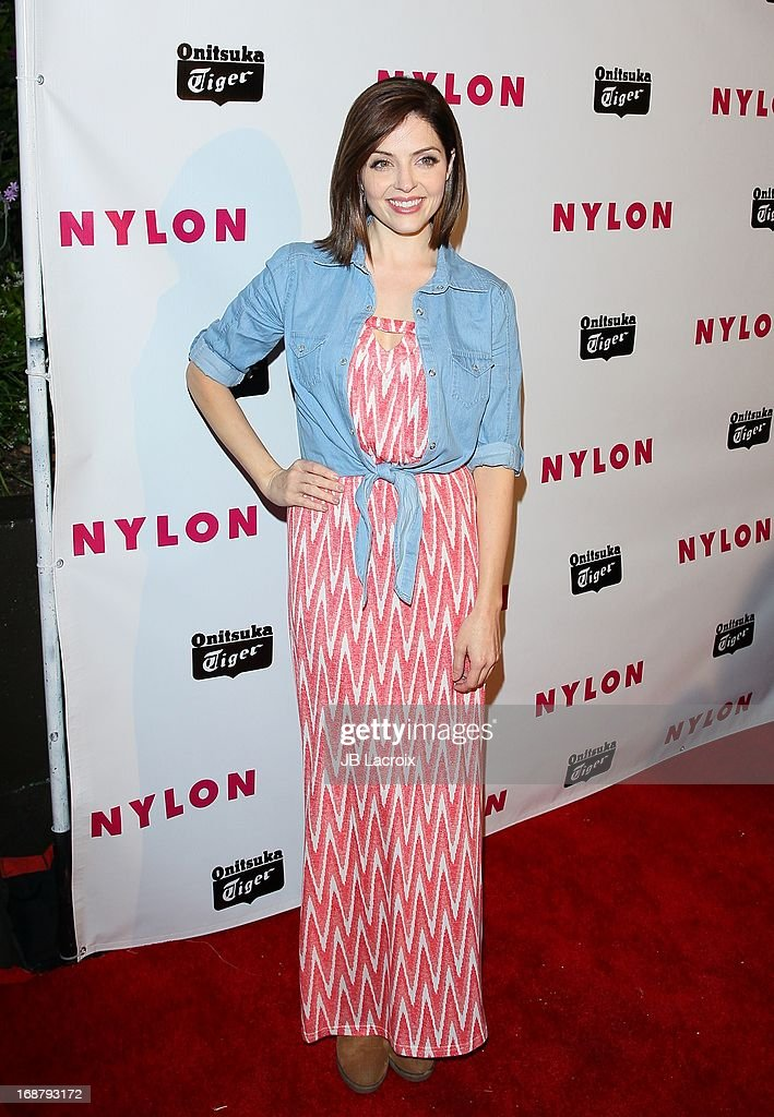 Jen Lilley attends the NYLON Magazine Annual May Young Hollywood Issue Party at The Roosevelt Hotel on May 14, 2013 in Hollywood, California.