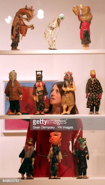 Jen Middleton from the Wellcome collection looks at works by Shoichi Koga at the Souzou Outsider Art from Japan exhibition at the Wellcome Collection...