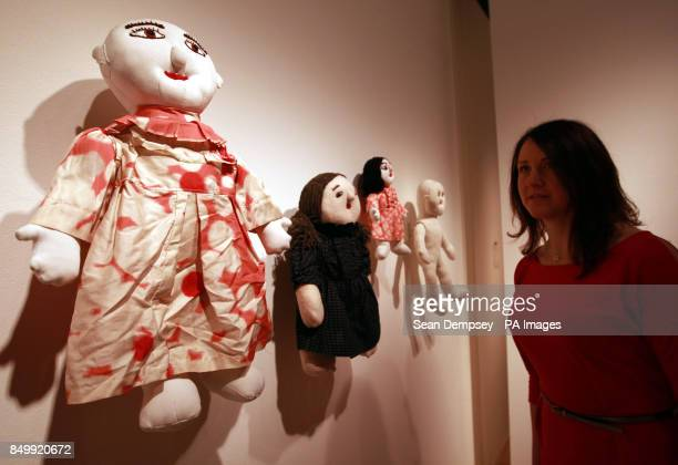 Jen Middleton from the Wellcome collection looks at works bySakiko Kono at the Souzou Outsider Art from Japan exhibition at the Wellcome Collection...