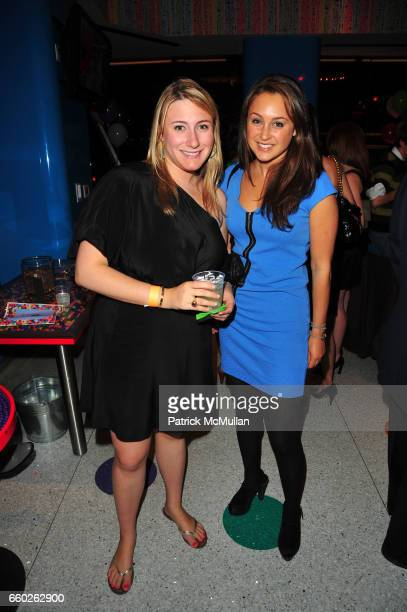 Jen Ross and Jessica Hodin attend ASSOCIATION to BENEFIT CHILDREN hosts COCKTAILS IN CANDYLAND at Dylan's Candy Bar on June 18 2009 in New York City
