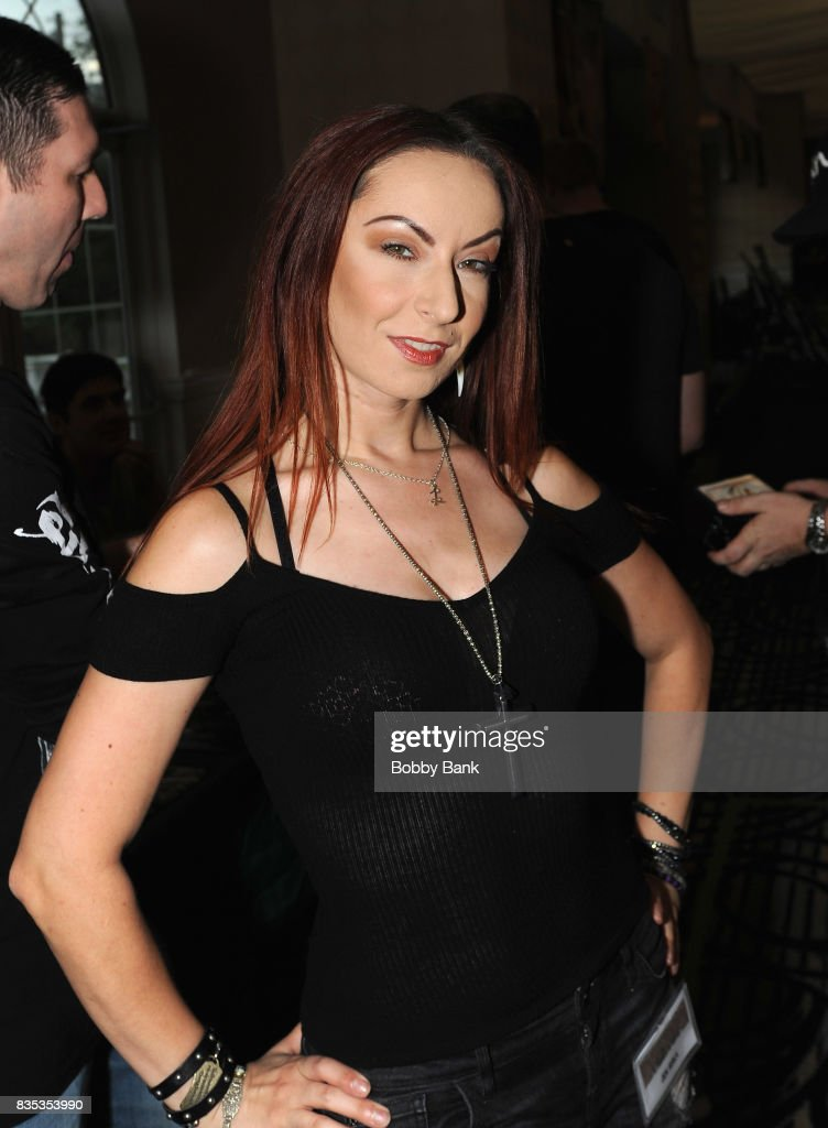 Jen Soska attends the Monster Mania Con 2017 at NJ Crowne Plaza Hotel on August 18, 2017 in Cherry Hill, New Jersey.