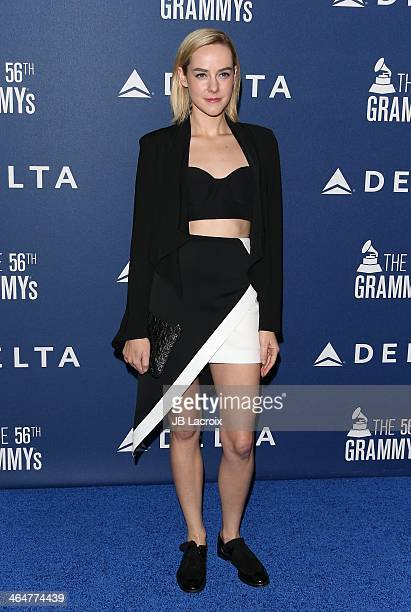 Jena Malone attends the Delta Air Lines 2014 GRAMMY Weekend Private Reception And Performance With Lorde held at Soho House on January 23 2014 in...