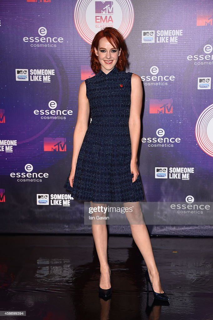 Jena Malone attends the MTV EMA's 2014 at The Hydro on November 9 2014 in Glasgow Scotland