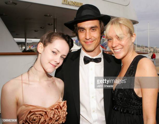 Jena Malone M Blash and Chloe Sevigny during 2006 Cannes Film Festival 'Lying' Cocktail Party On The Budweiser Select 'Big Eagle' Yacht at Budweiser...