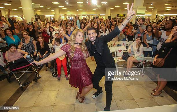 Jencarlos Canela at the Macy's celebrates Hispanic Heritage Month with Jencarlos Canela at Dadeland Mall on September 22 2016 in Miami Florida