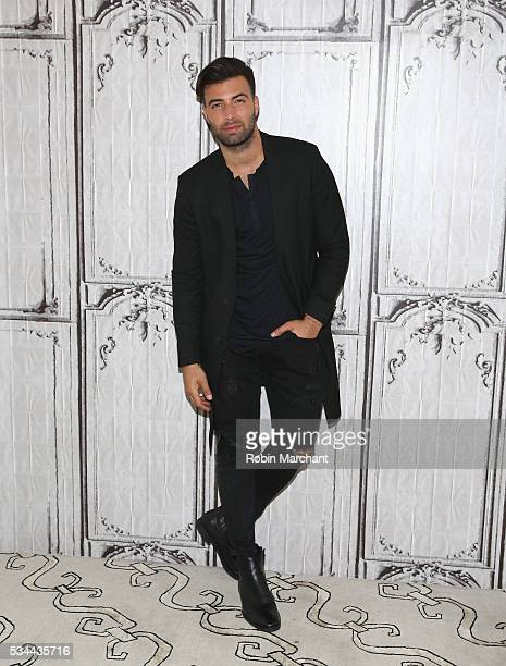 Jencarlos Canela attends AOL Build Presents at AOL Studios In New York on May 26 2016 in New York City