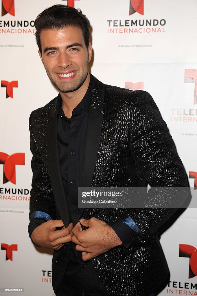 JenCarlos Canela attends Telemundo International NATPE VIP Party at Bamboo Miami on January 28, 2013 in Miami, Florida.