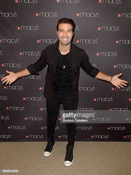 Jencarlos Canela attends the Macy's celebrates Hispanic Heritage Month with Jencarlos Canela at Dadeland Mall on September 22 2016 in Miami Florida