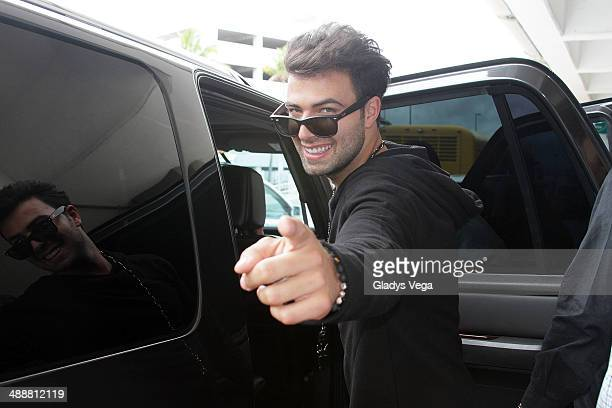 Jencarlos Canela is sighted at Luis Munoz Marin Intl Airport on May 8 2014 in San Juan Puerto Rico