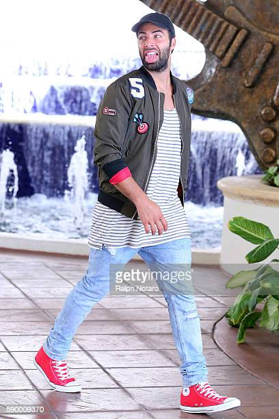 Jencarlos Canela is sighted at Seminole Hard Rock Hotel Casino – Hard Rock Cafe Hollywood on August 12 2016 in Hollywood Florida