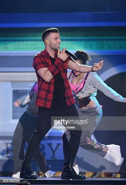 Jencarlos Canela performs onstage at the Billboard Latin Music Awards at Bank United Center on April 28 2016 in Miami Florida