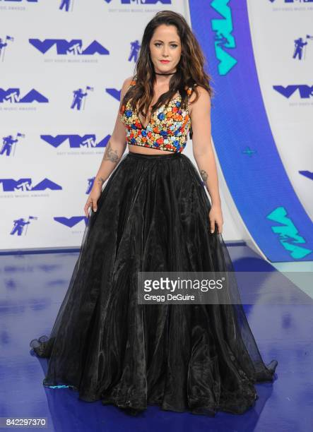Jenelle Evans arrives at the 2017 MTV Video Music Awards at The Forum on August 27 2017 in Inglewood California