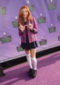 Jenessa Rose arrives at Hub Network's First Annual Halloween Bash at Barker Hangar on October 20 2013 in Santa Monica California