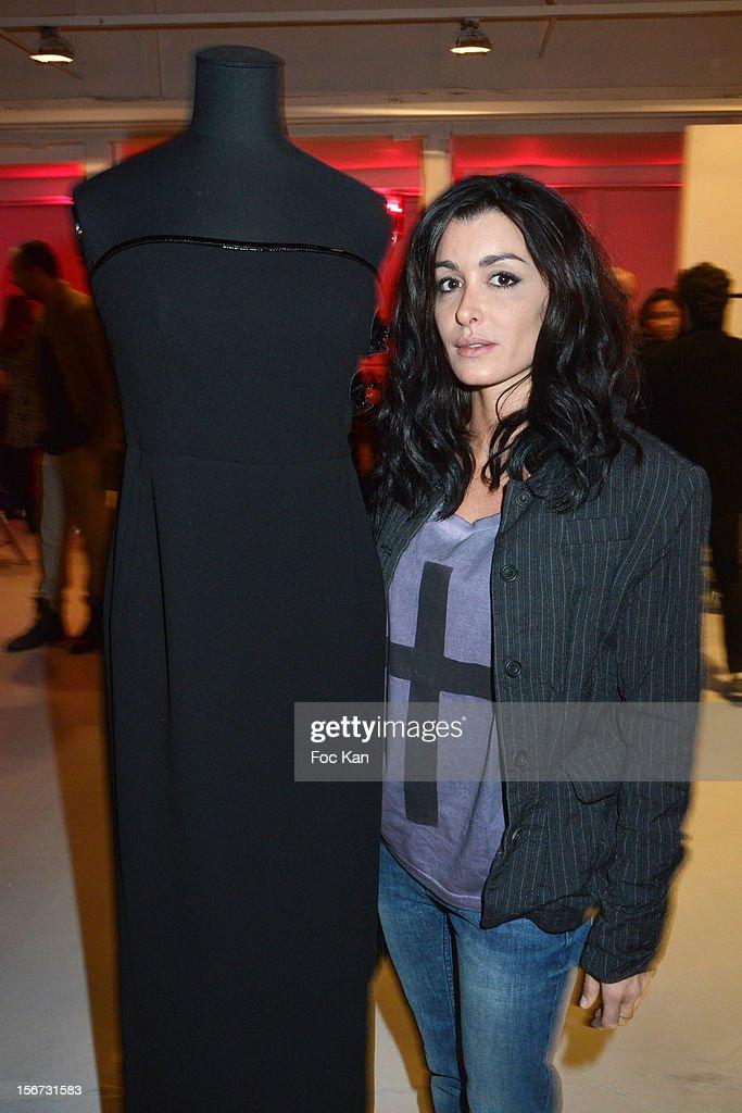 Jenifer Bartoli attends 'La Braderie de L'Eclaireur 2012' in Benefit of Rose Association Against Cancer at Galerie Diana Marquardt on November 19, 2012 in Paris, France.