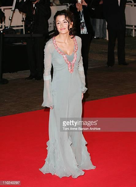 Jenifer Bartoli during 2005 NRJ Music Awards Arrivals at Palais des festivals in Cannes France